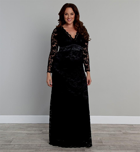 Anniversary Special Dresses woman in black