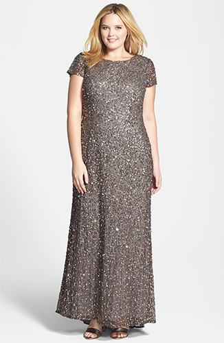 Anniversary Special Dresses grey