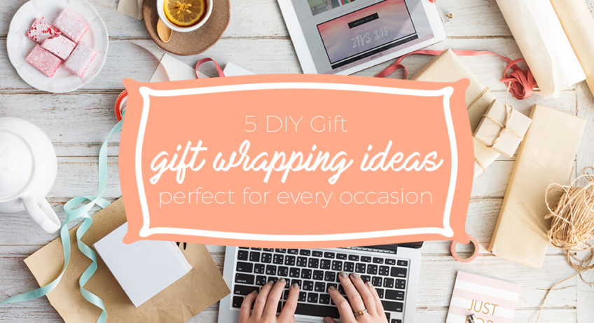 DIY Gift Wrapping cover photo