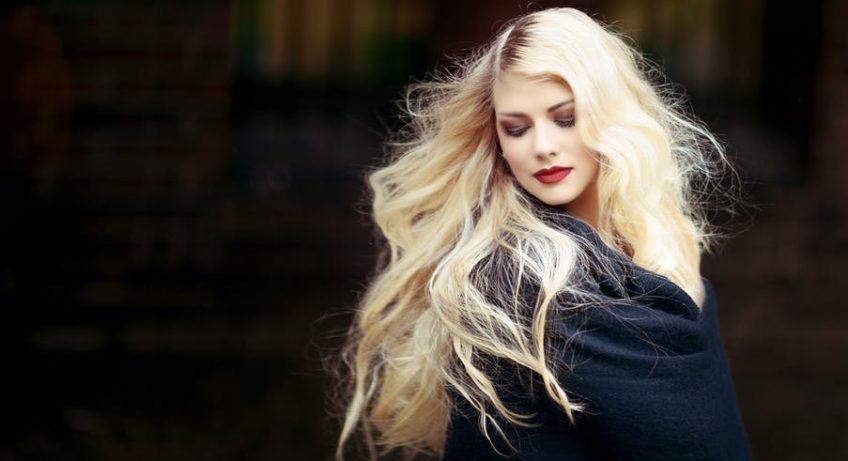 HAIR GRОW FASTER blonde woman