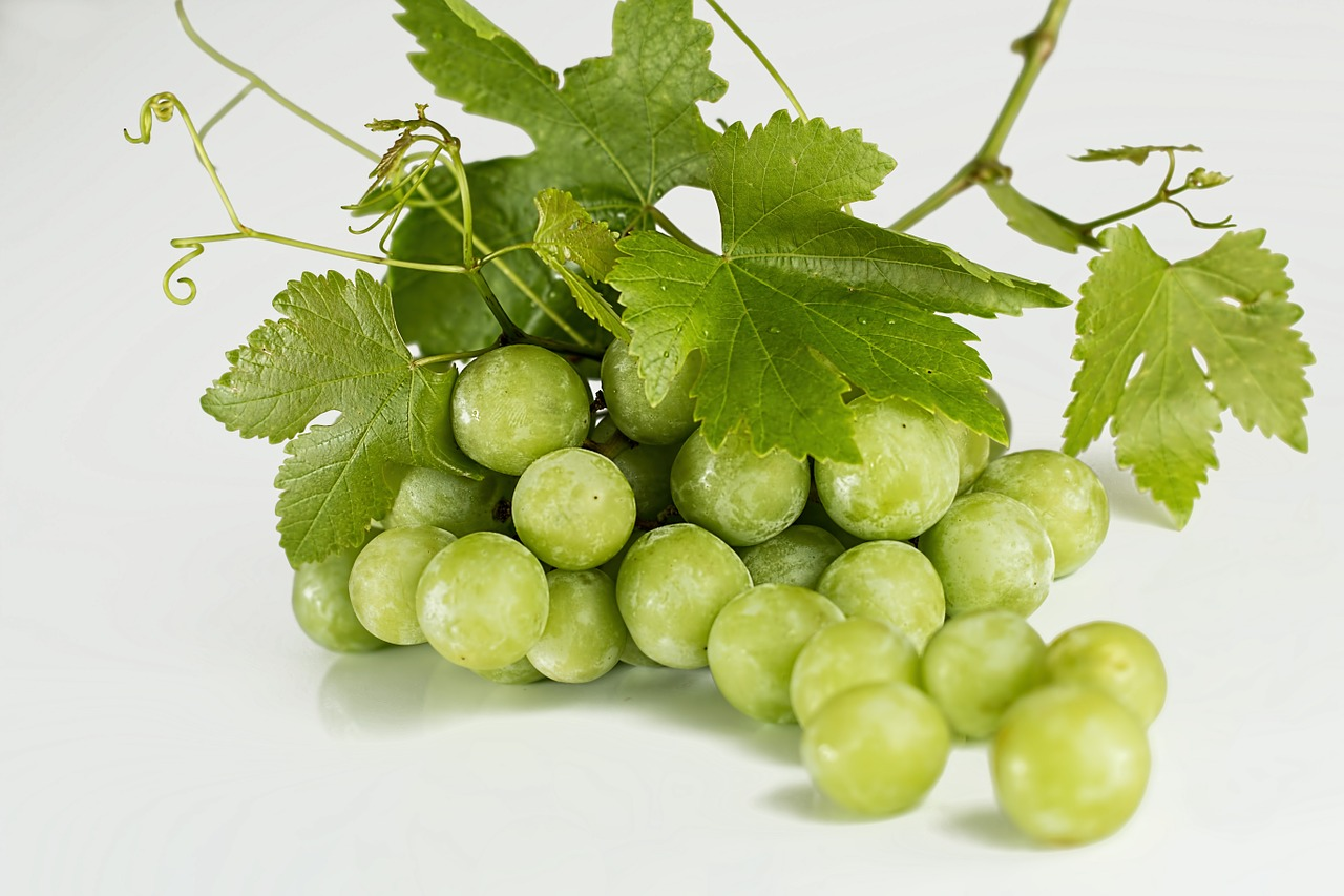 Wedding fruit grapes
