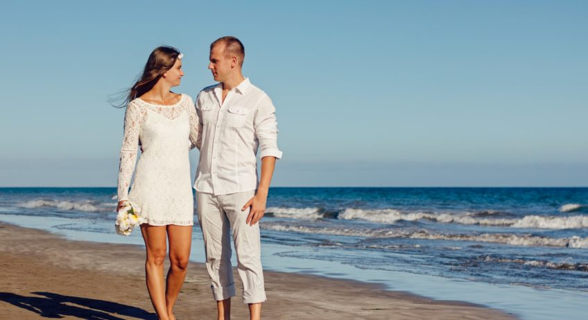 Choosing A Wedding Dress for A Beach Wedding