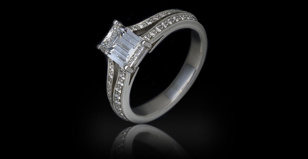 Cramming for Custom Engagement Ring Purchase diamond
