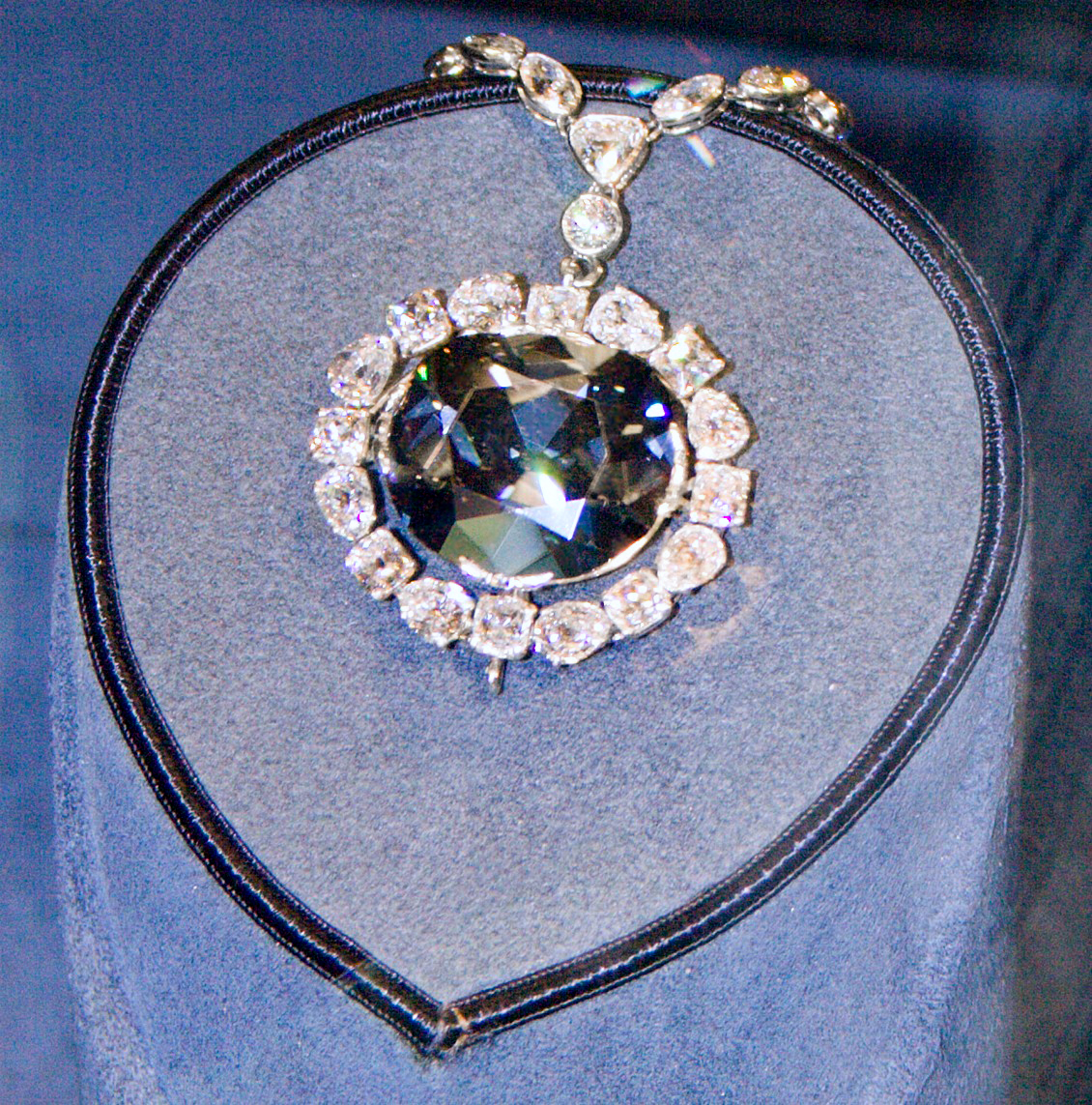 the Cursed Hope Diamond