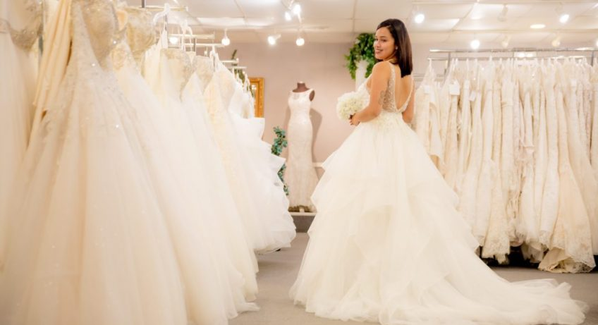 How to find the perfect bridal dress without a stylist?