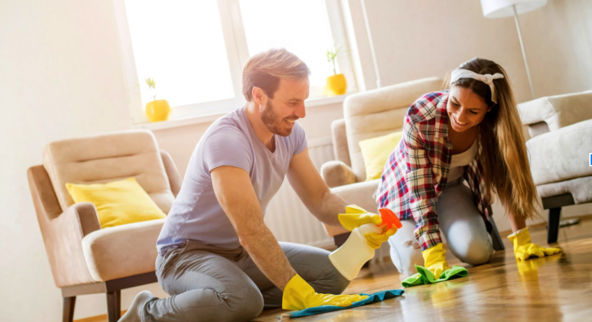 Easy cleaning tips for working couples