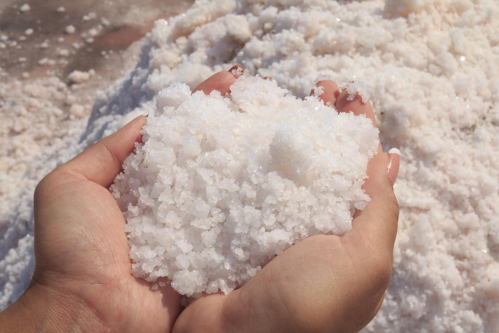 Sodium chloride in skincare